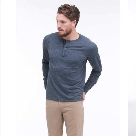 AG Adriano Goldschmied Mens New Clyde Henley